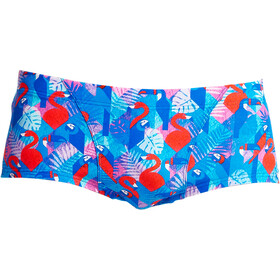 Funky Trunks Classic Costume a pantaloncino Uomo, flaming vegas